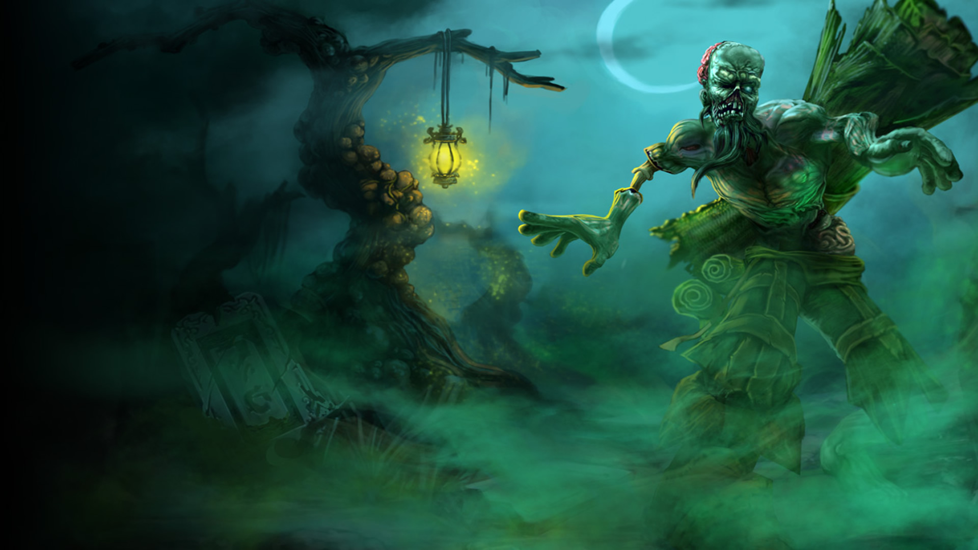 Zombie Ryze   League of Legends Wallpapers 1920x1080