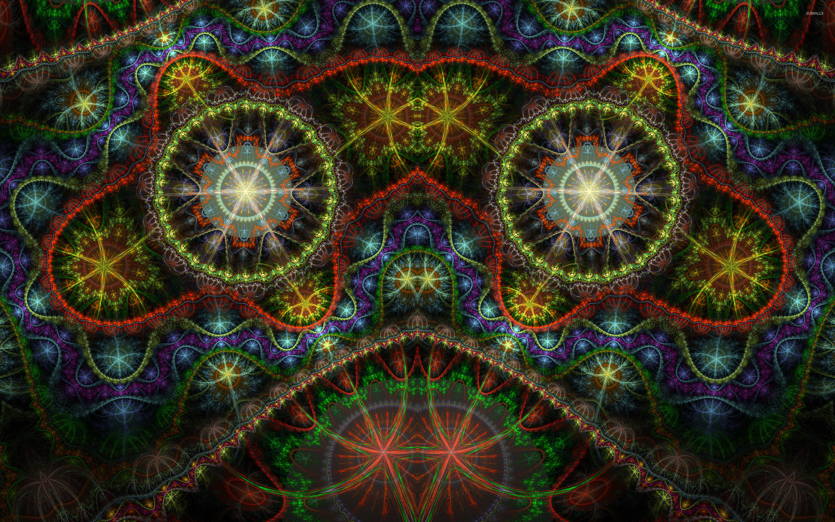Colorful fractal wallpaper   Abstract wallpapers   42719 2880x1800