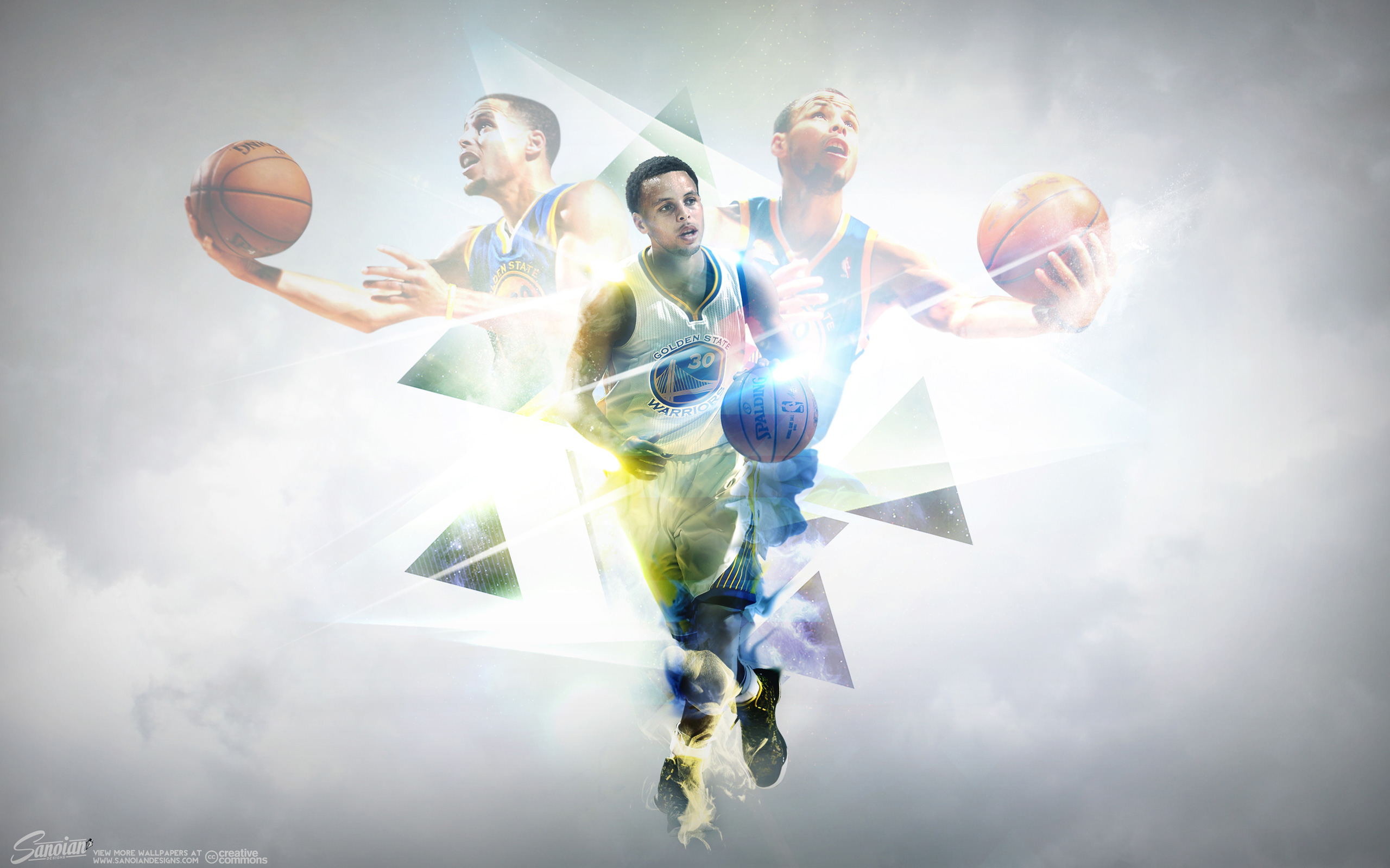 Stephen Curry Warriors Enigma 2560x1600