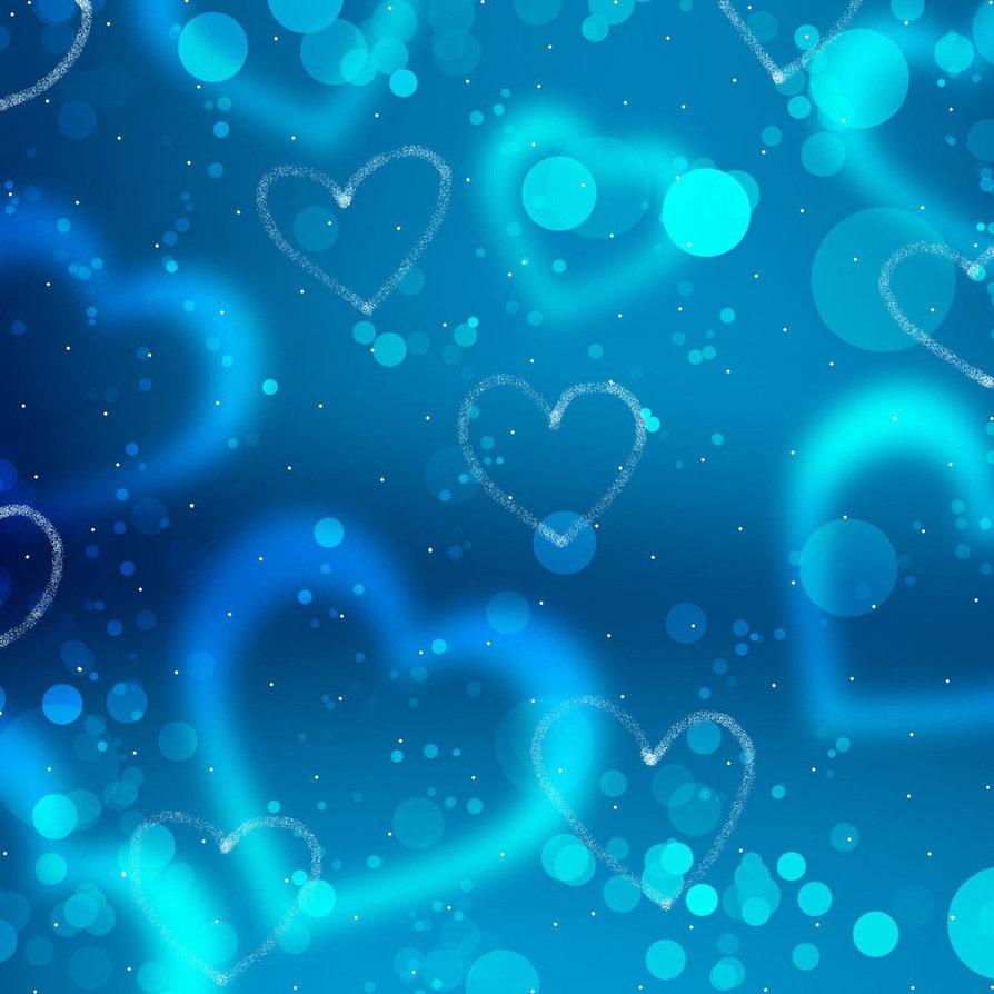 Blue hearts wallpaper wallpapersafari - Heart to heart wallpaper ...
