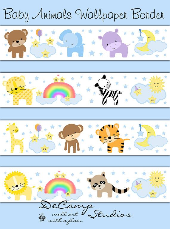 43 Baby Safari Wallpaper On Wallpapersafari