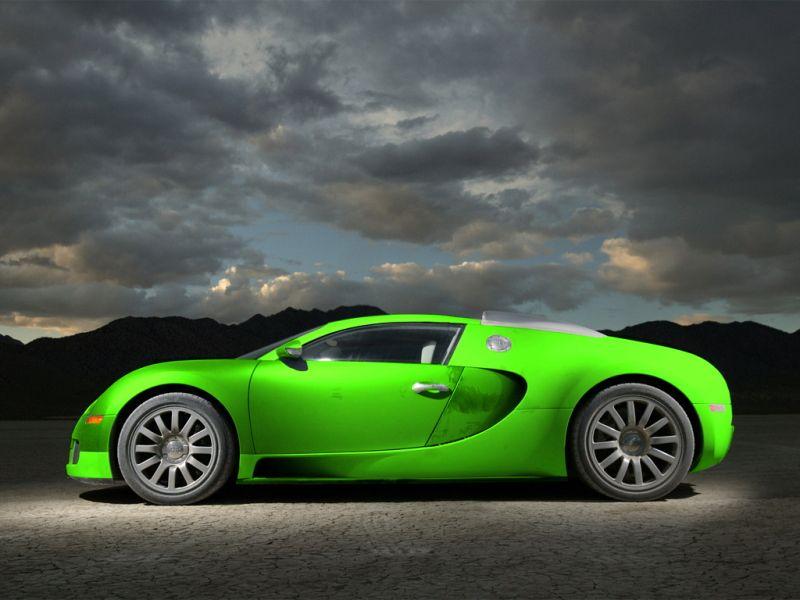 lime green bugatti veyron wallpaper - photo #5