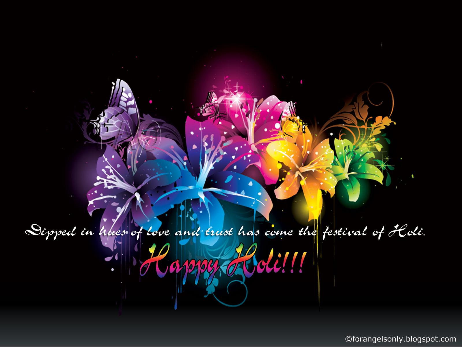 Happy Holi Widescreen HD Wallpaper 1600x1200   Holi Festival 1600x1200