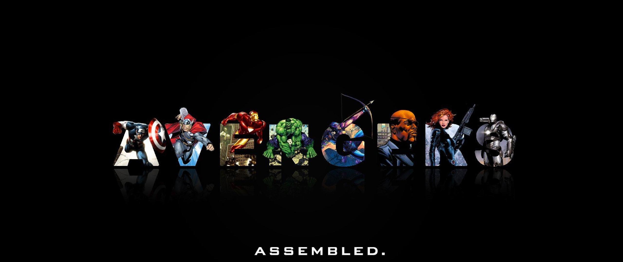 The Avengers Desktop Wallpaper   Avengers Live Images HD 2560x1080