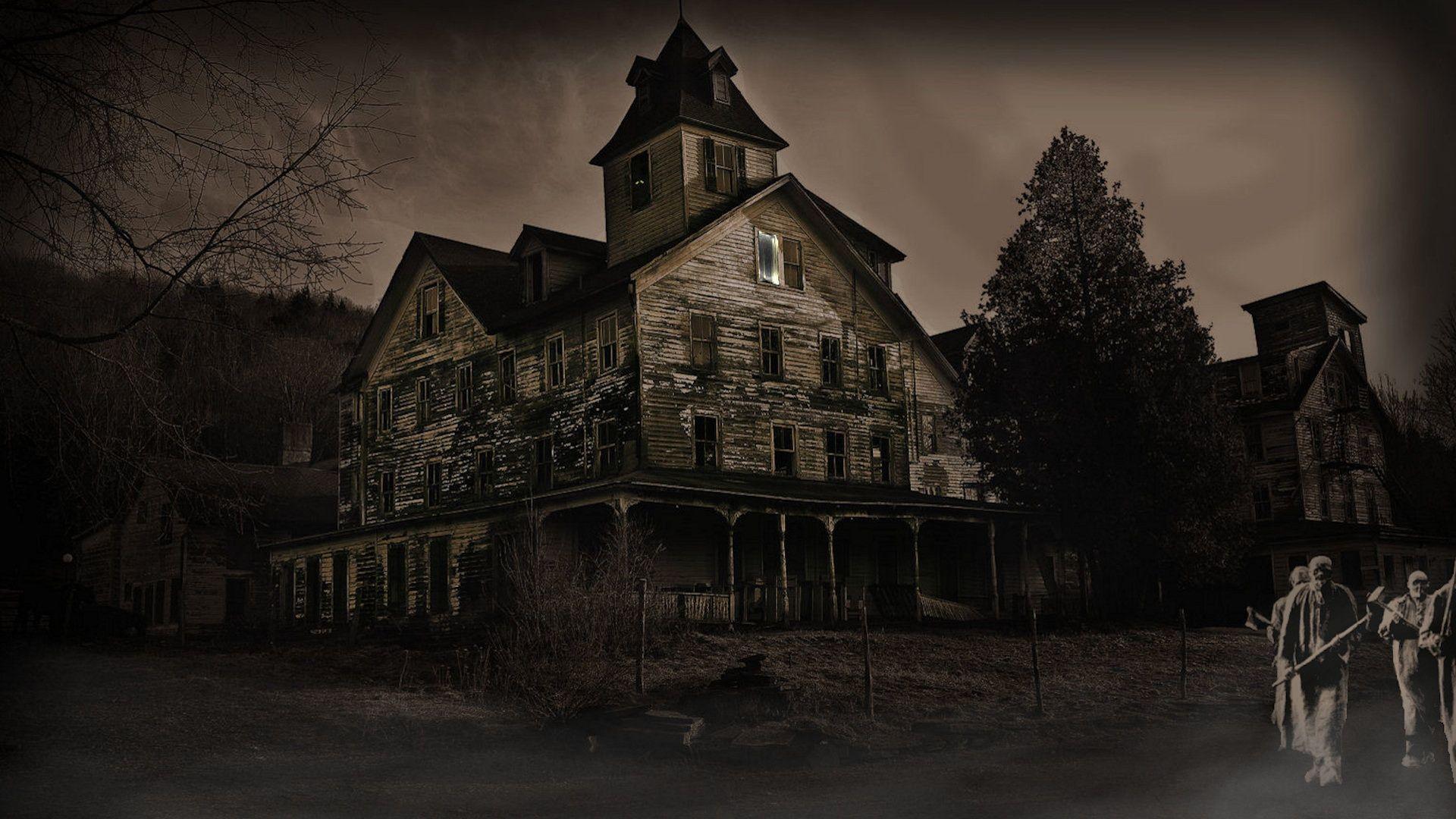 Haunted House Wallpapers Desktop 1920x1080