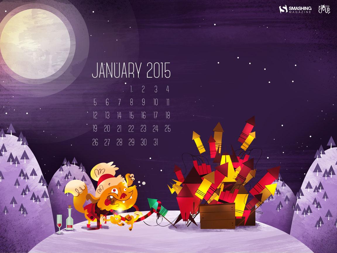 Desktop Wallpaper Calendars January 2015 Smashing Magazine 1152x864