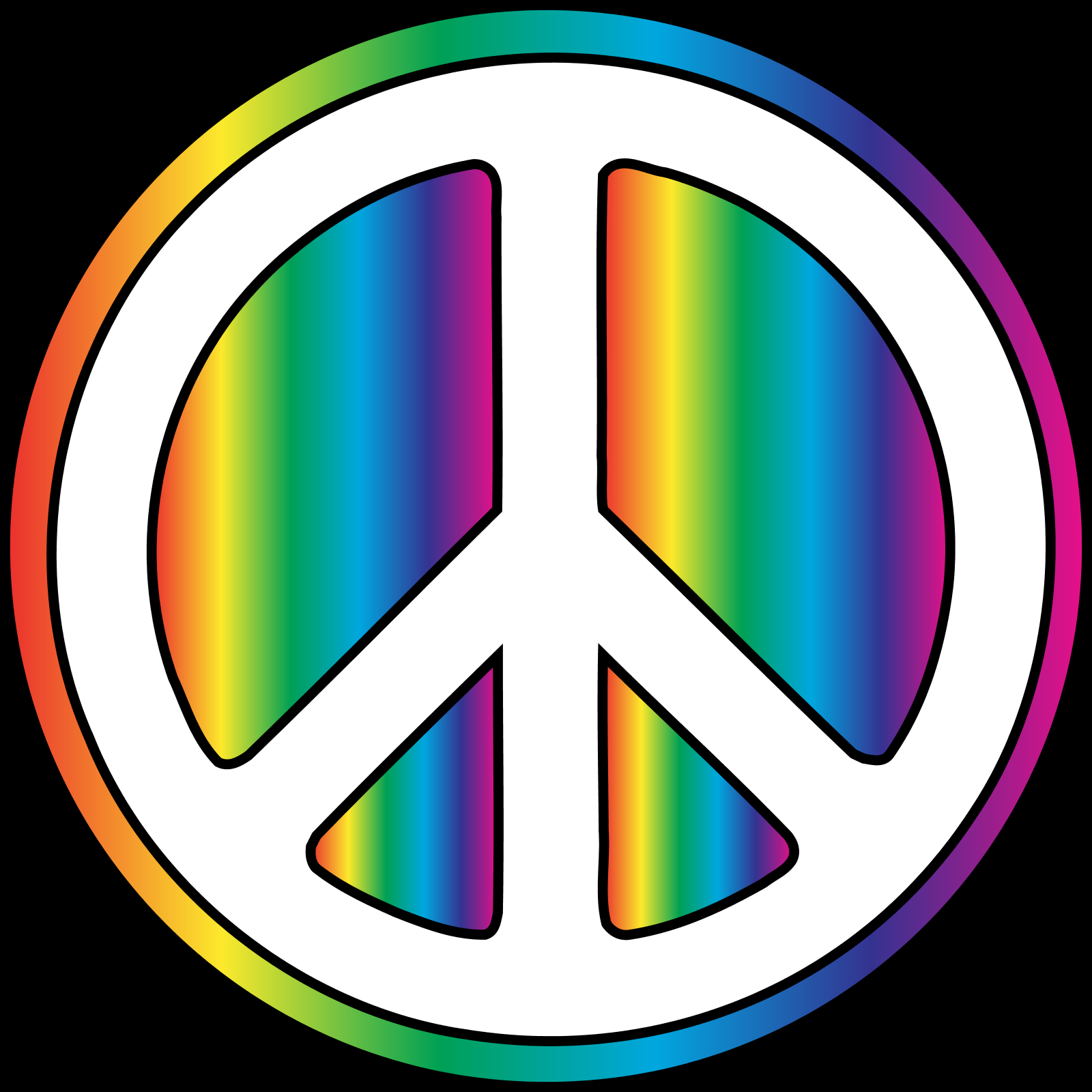 Colorful Iphone Wallpaper: Colorful Peace Sign Backgrounds