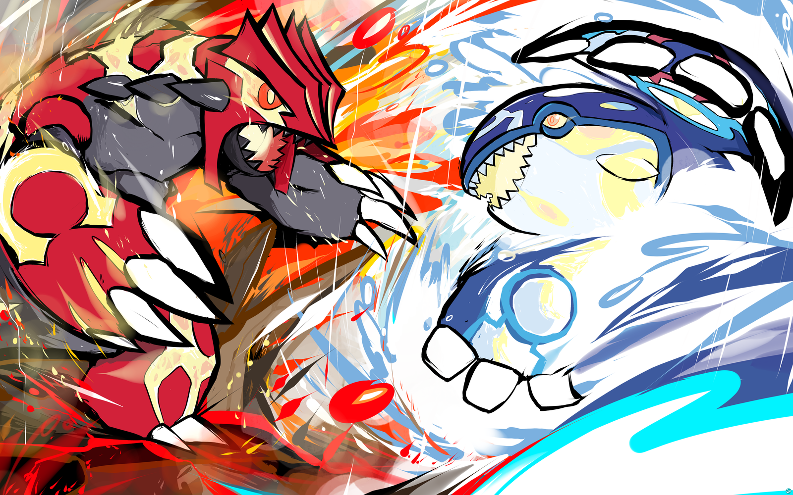 50 Primal Groudon And Kyogre Wallpaper On Wallpapersafari