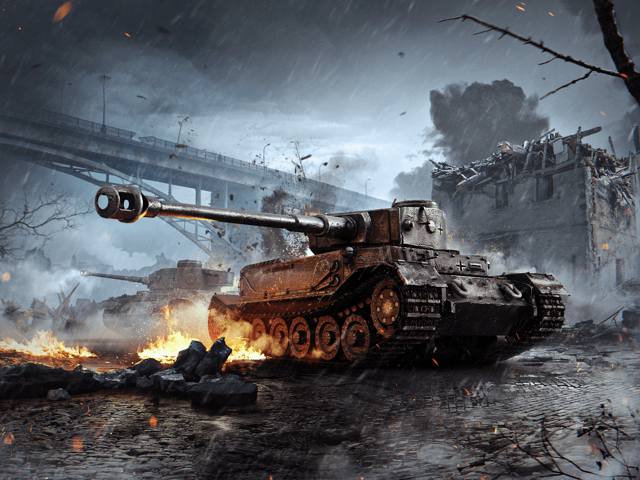 Tiger Tank Wallpapers   Top Tiger Tank Backgrounds 1250x938