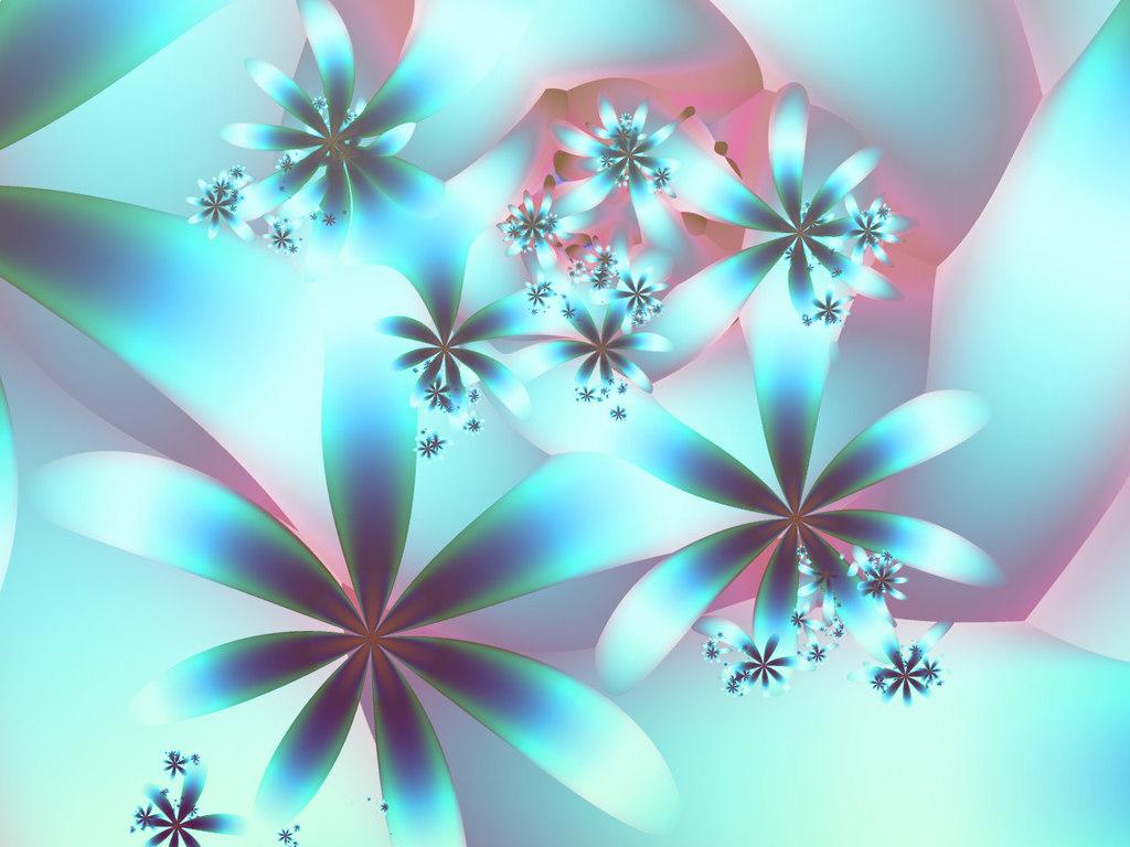 3D Flower Desktop Wallpaper - WallpaperSafari