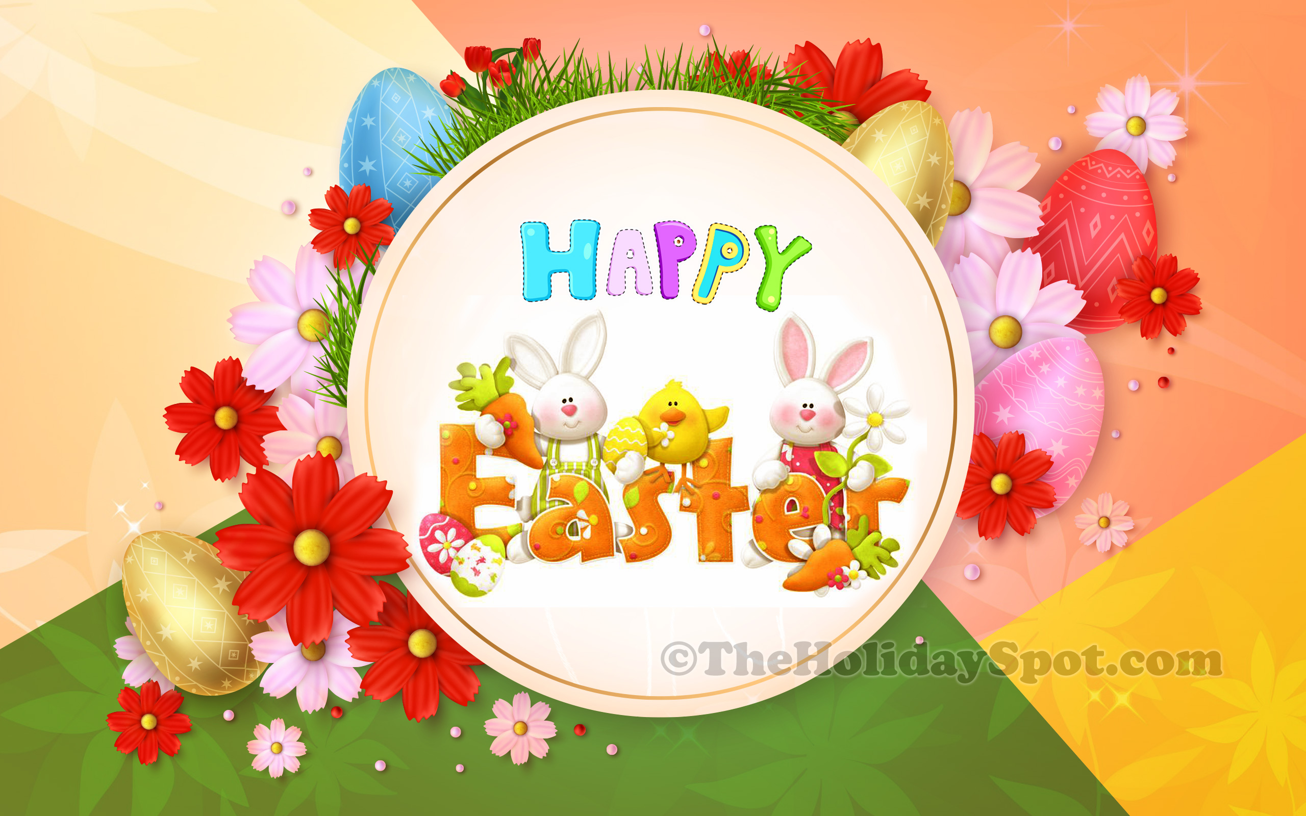 Happy Easter Wallpapers Cute Easter Wallpapers Easter Pictures 2560x1600