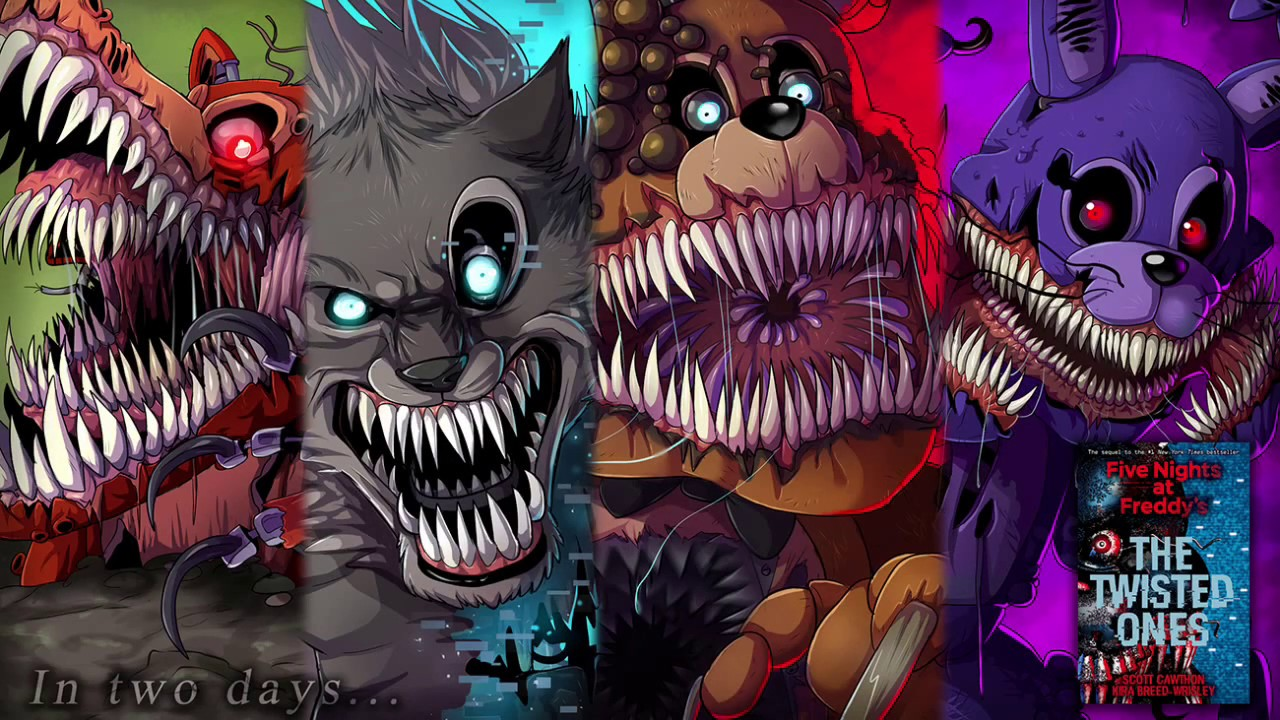 18 Five Nights At Freddy S The Twisted Ones Wallpapers On