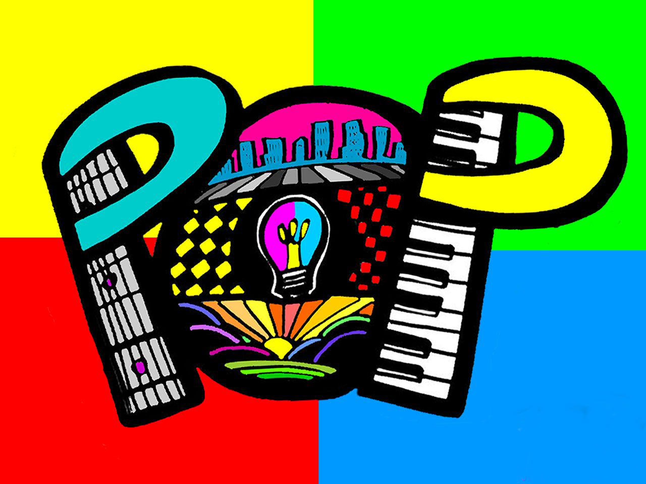 Desktop wallpapers pop art - Pop Art Desktop Wallpaper Hd Background Multi Colours