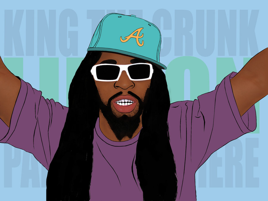 lil jon pop art by onedoo 900x675