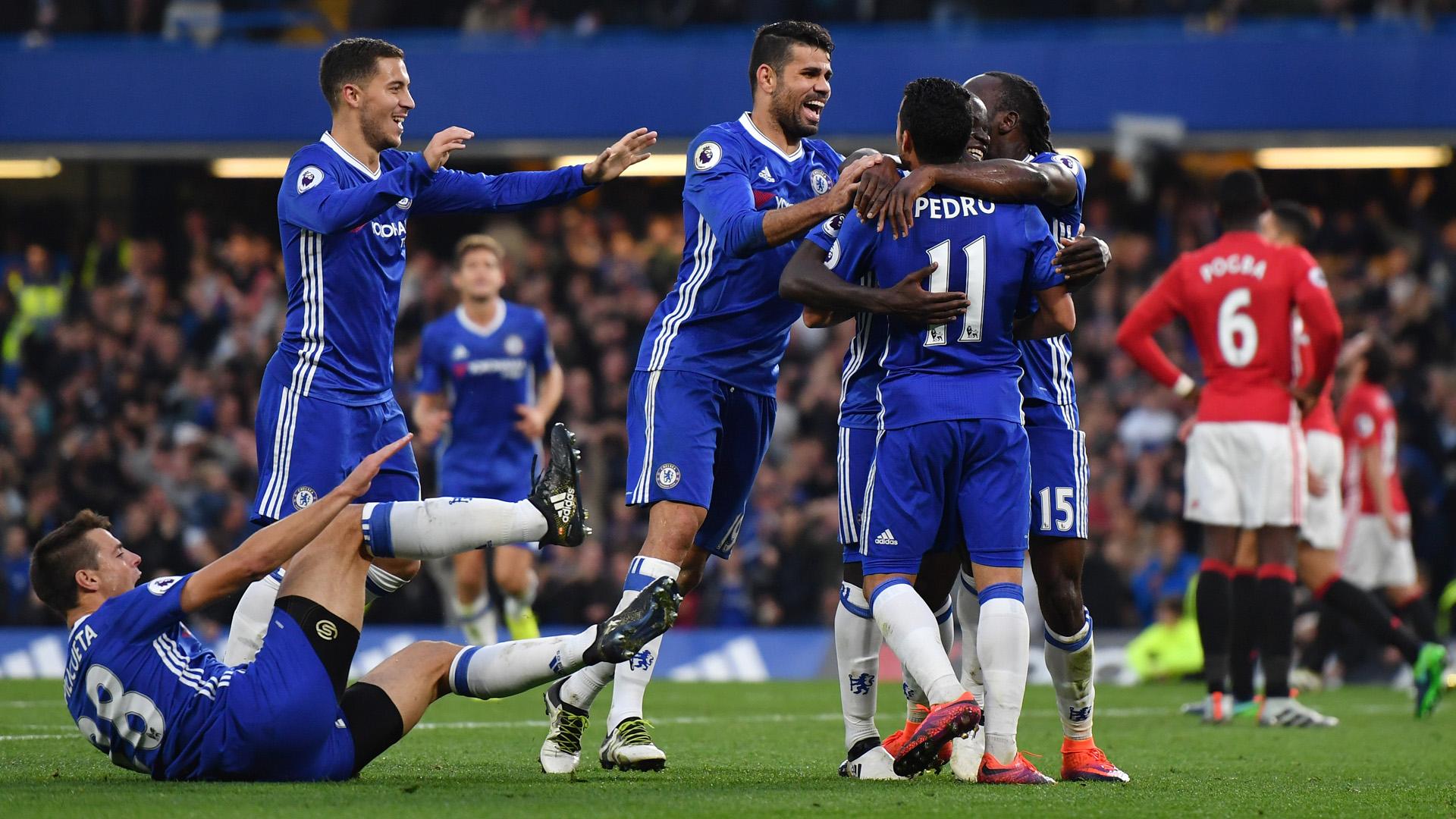Chelsea 4   0 Man Utd   Match Report Highlights 1920x1080