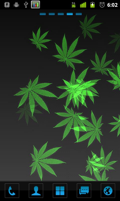 Weed Paper Live Wallpaper Android Apps on Google Play 480x800