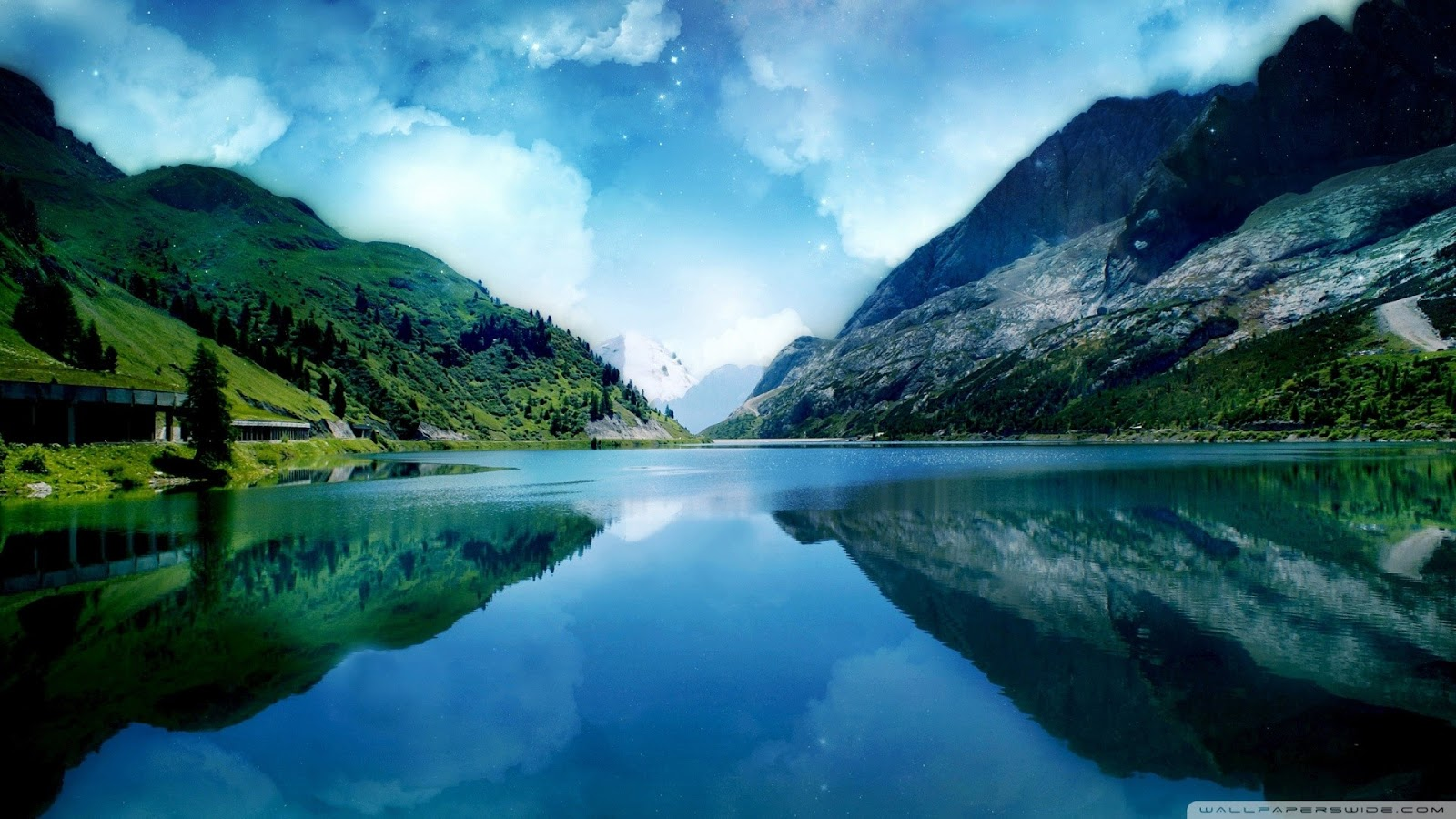 World Most Beautiful Lake Wallpapers Most beautiful places in the 1600x900