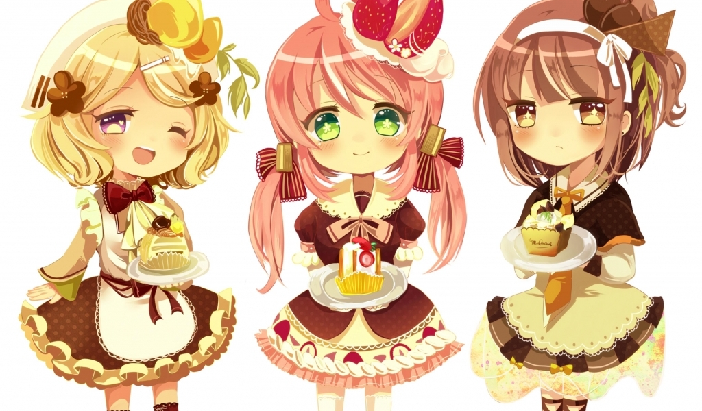 Download Cute Chibi wallpaper in Cartoon   Anime wallpapers with all 1024x600