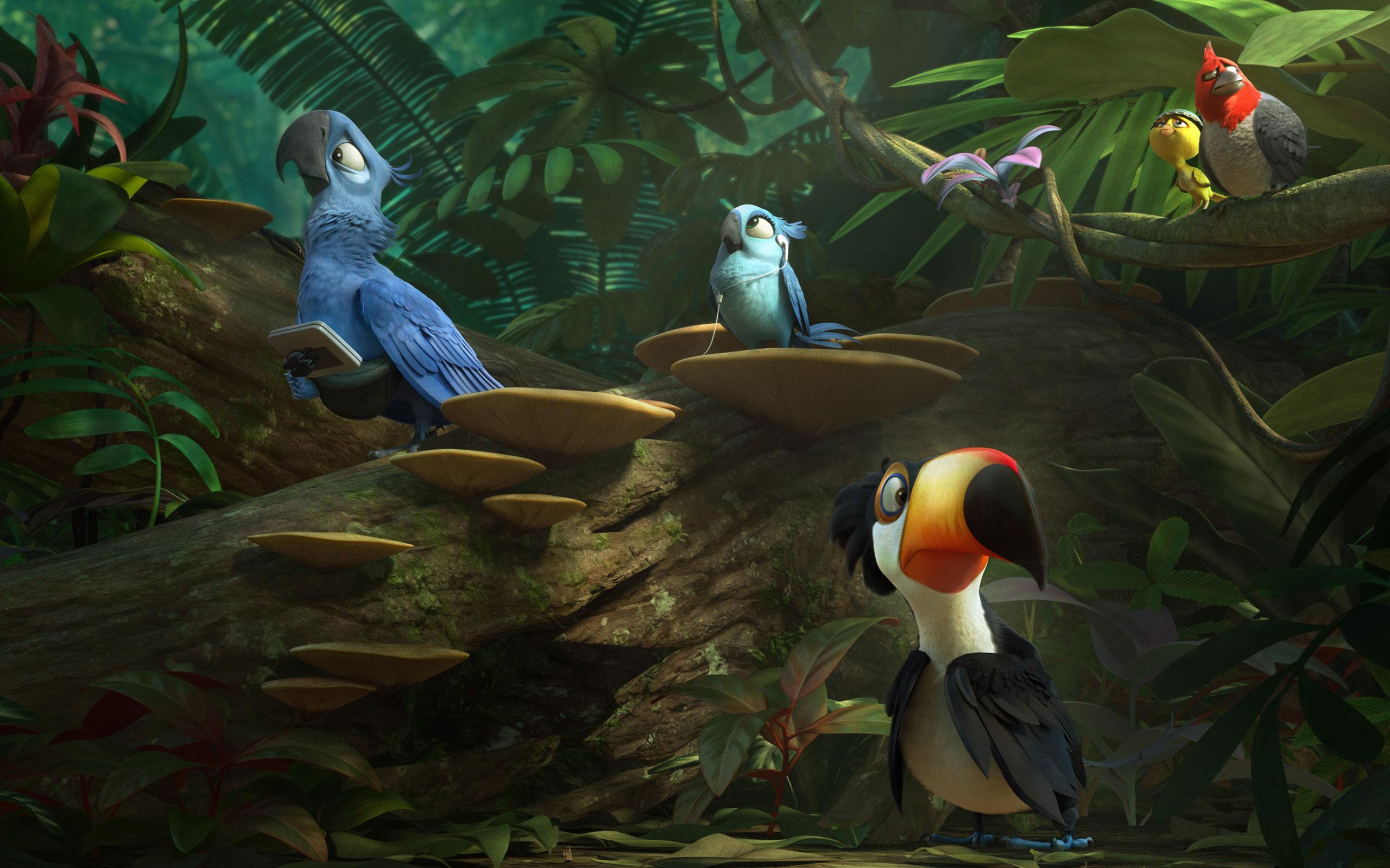 Movie Wallpapers Desktop Backgrounds Rio 2 2014 Movie HD Movie 2560x1600