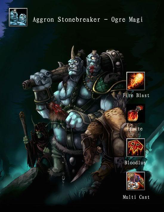 Aggron Stonebreaker Ogre Magi DotA Wallpaper Top DotA 550x711