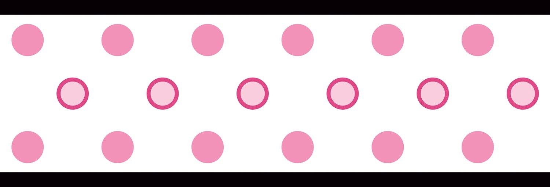 45 Black Polka Dot Wallpaper Border On Wallpapersafari