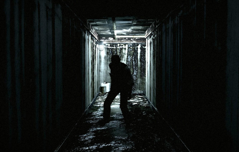 Wallpaper dark light blood underground detective asylum The 1332x850