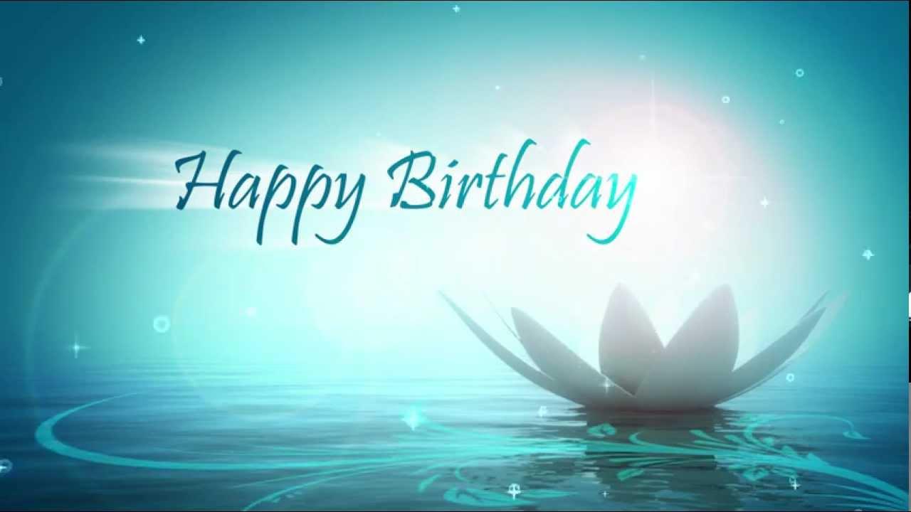Happy Birthday   Motion Graphics   Animation 1280x720