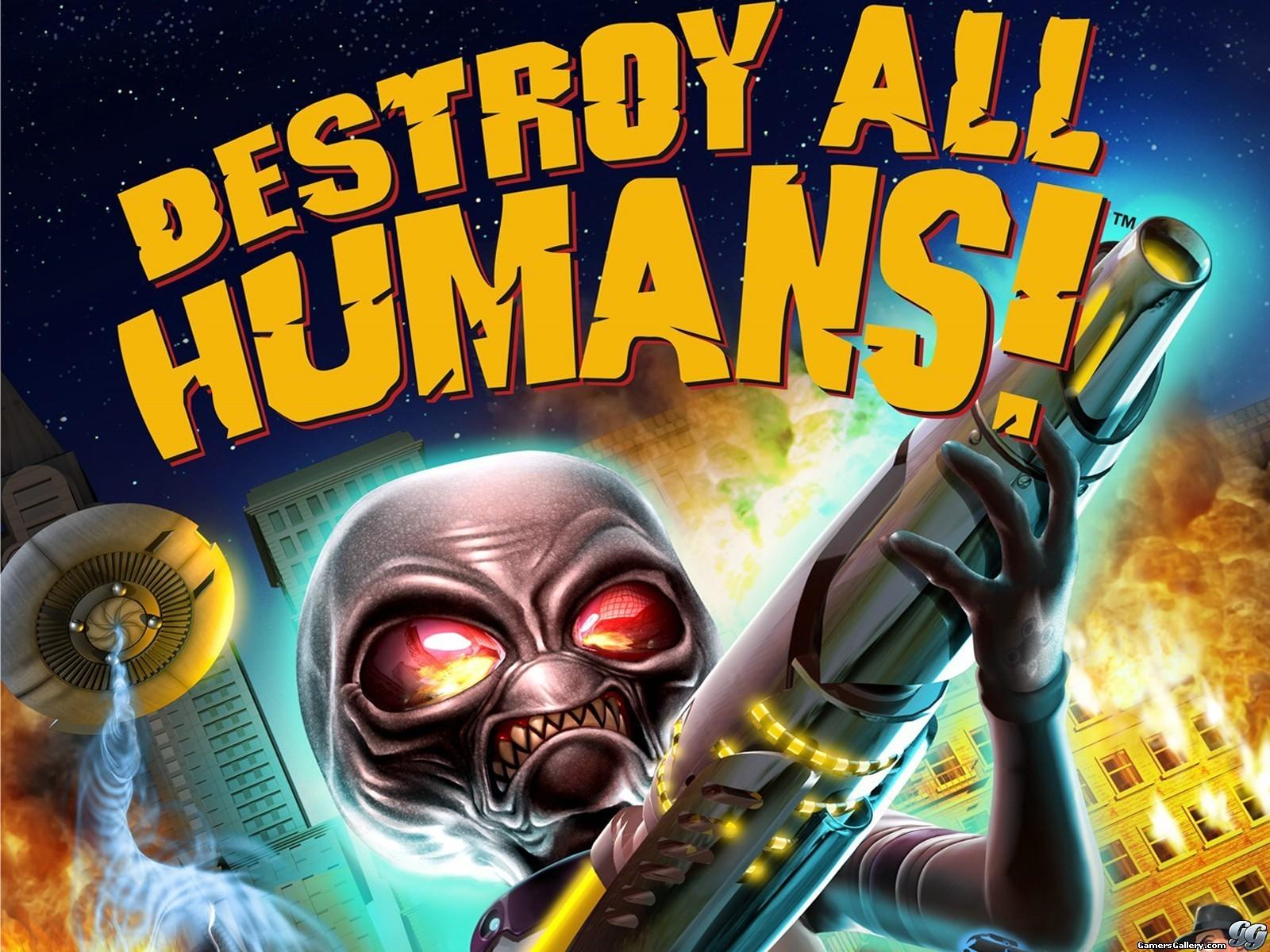destroy all humans by onlytodownload fan art wallpaper games 2009 2015 1600x1200