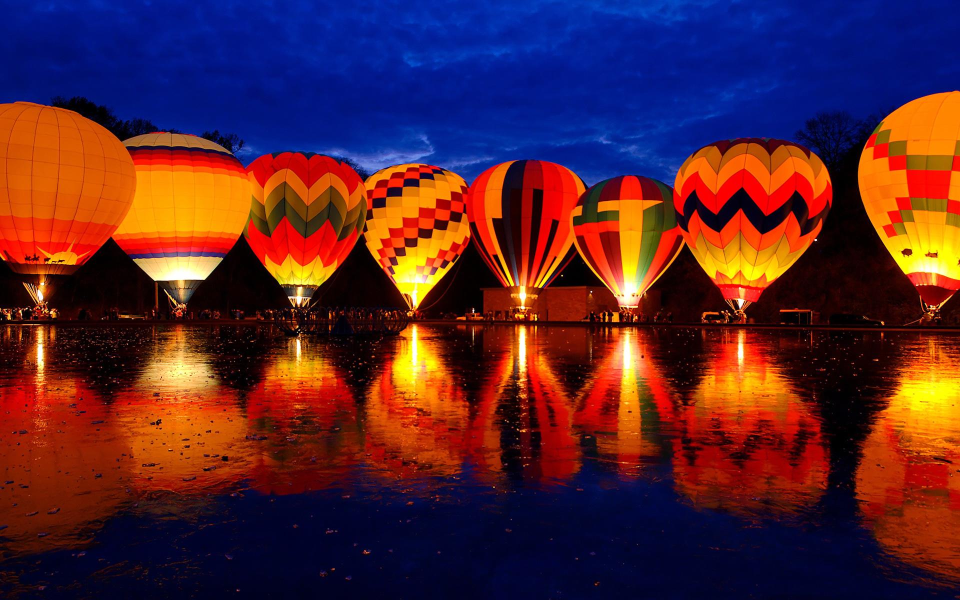 Balluminaria Hot Air Balloon Glow Festival Wallpapers HD Wallpapers 1920x1200