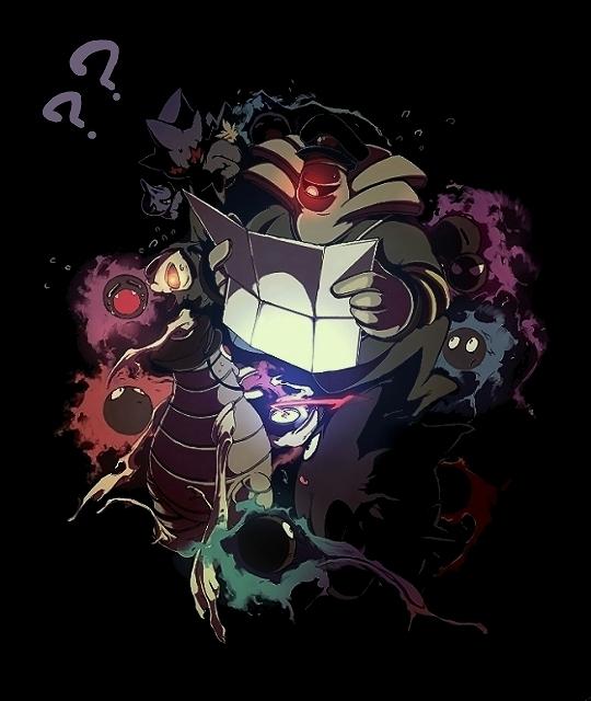 Wallpapers Fan Art and Alternate Art Ghost Pokemon 540x640