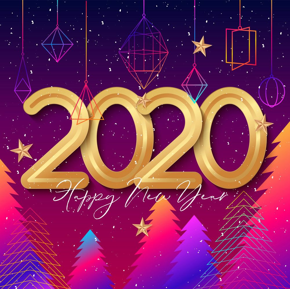 Happy New Year 2020 Wallpapers   Top Happy New Year 2020 1000x996