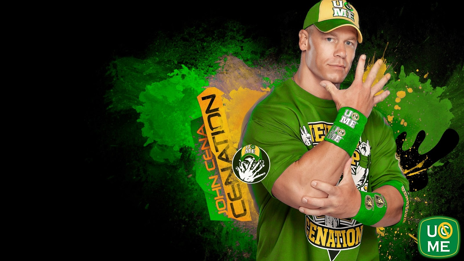 John Cena Green Wallpapers 2013 Wrestling and Wrestlers 1600x900