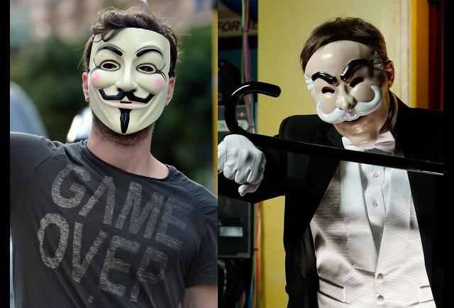 Behind The Masks - In Photos: Finding Mr. Robot's Many Easter Eggs ...