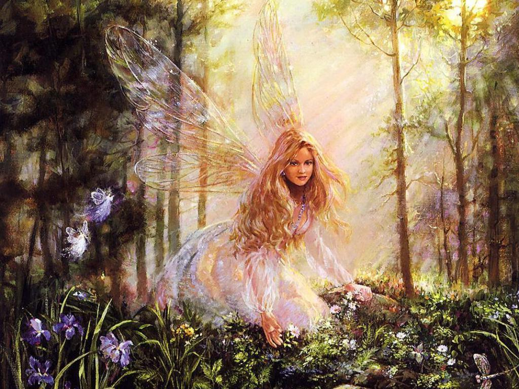 Drawing Art Fairy Background Wallpapers Fairy Background 1024x768