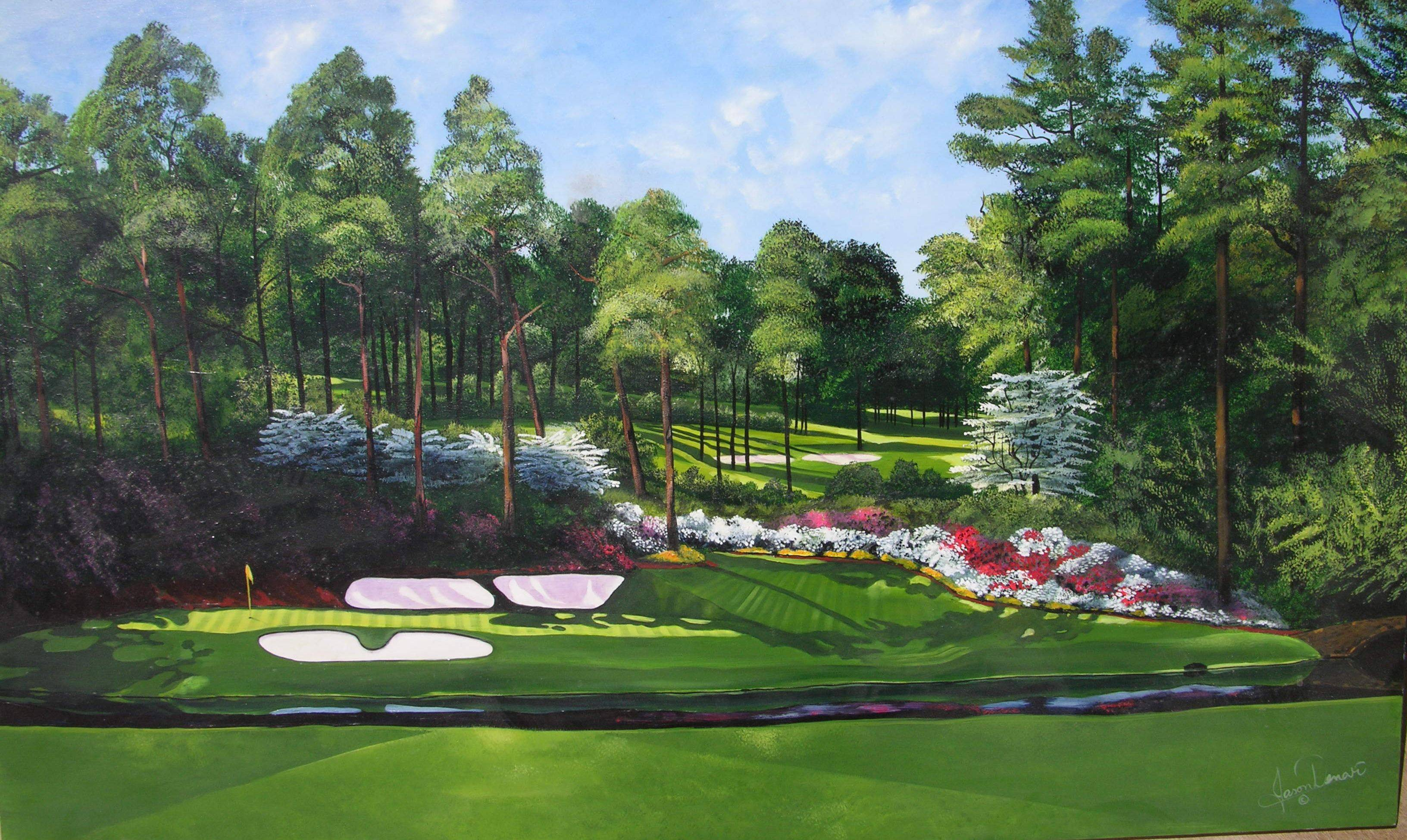 2015 Wallpapers Of Augusta National 3264x1949