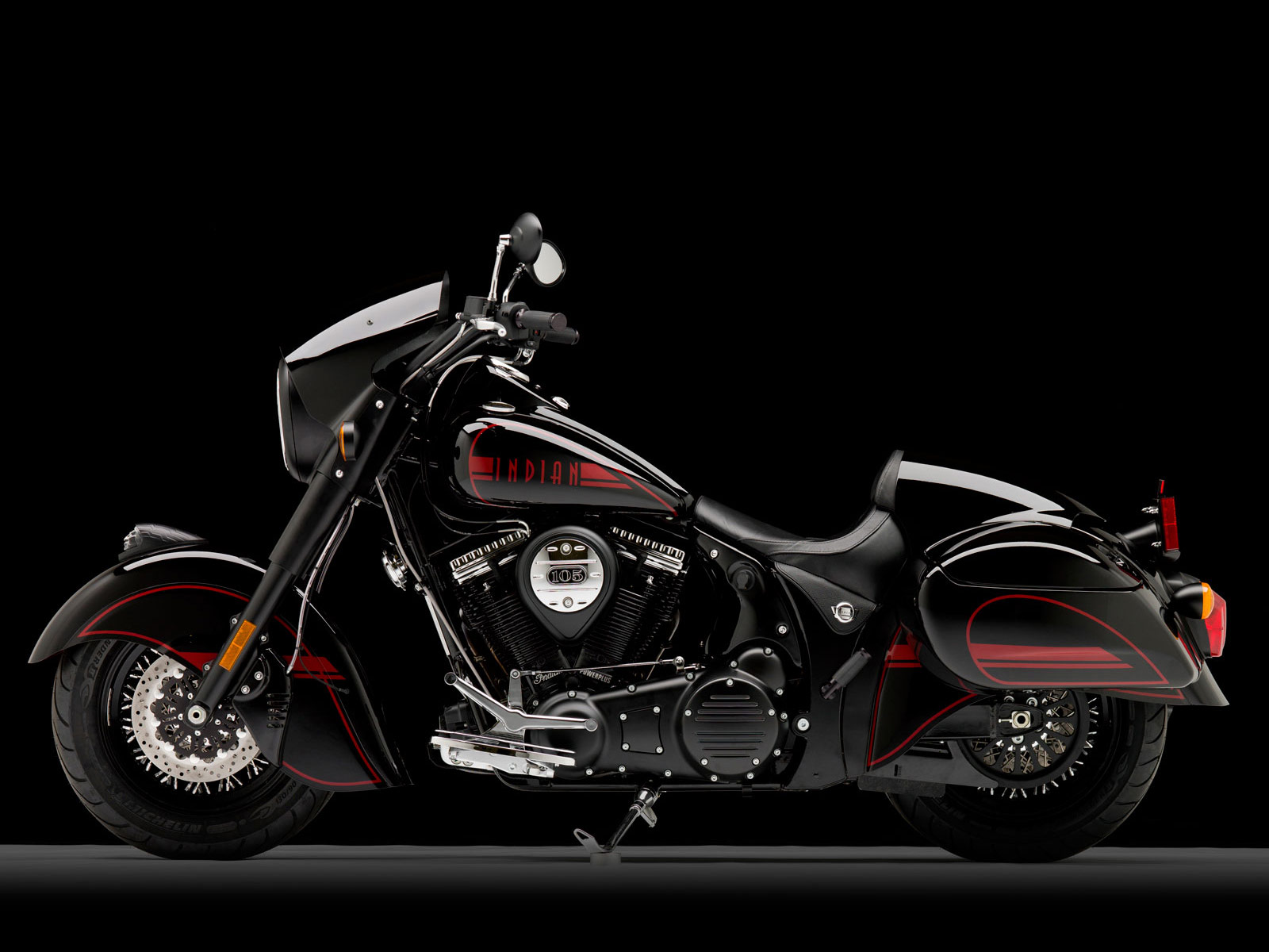 2011 Indian Chief Black Hawk motorcycle desktop wallpaper 3jpg 1600x1200