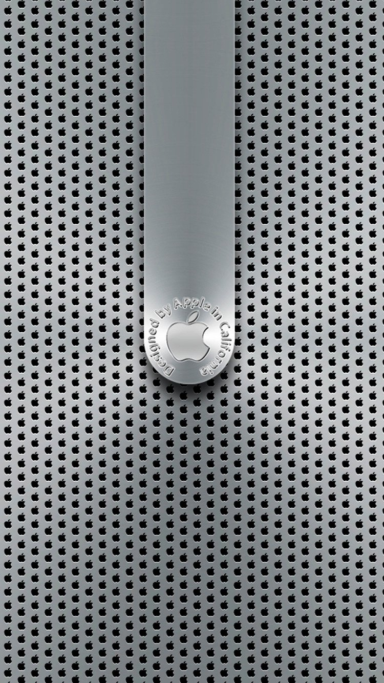 Metal Apple Lockscreen IPhone 6 Wallpapers 750x1334