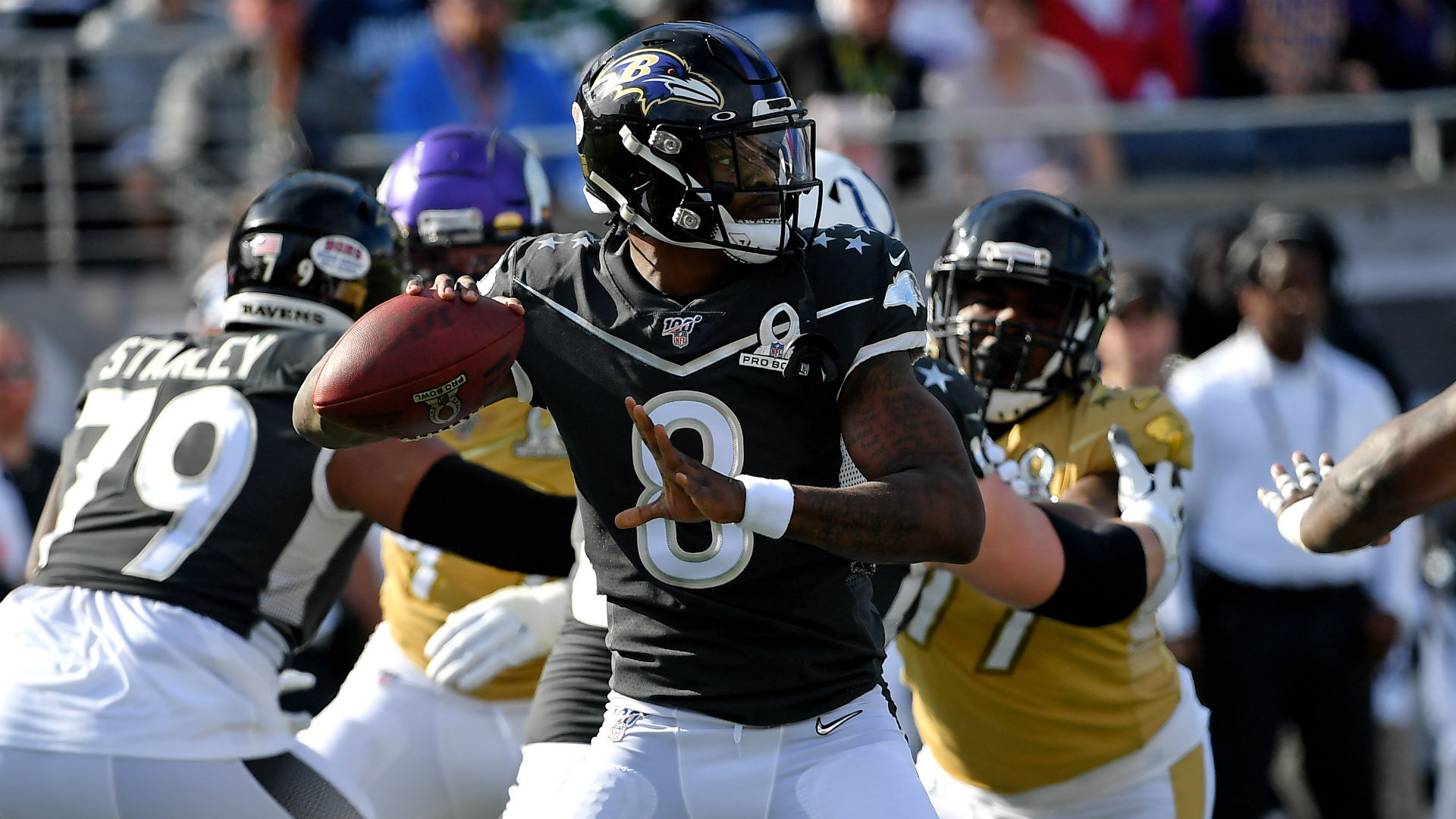 Lamar Jackson finds Mark Andrews for touchdown in Pro Bowl NBC 1920x1080