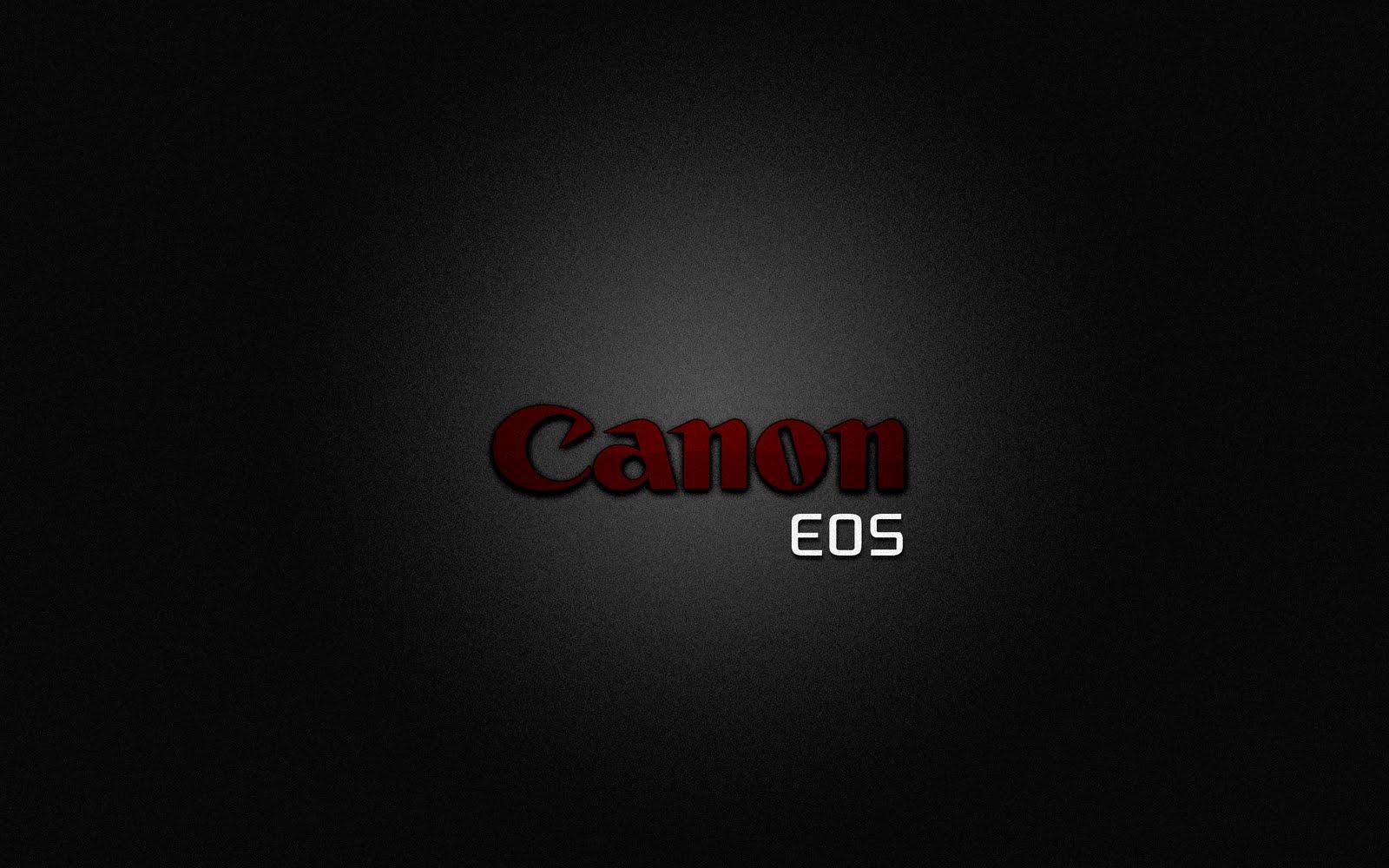 Bildir   1080p Wallpapers Canon Eos Digital Logo Dark Hd P Wallpaper 1600x1000
