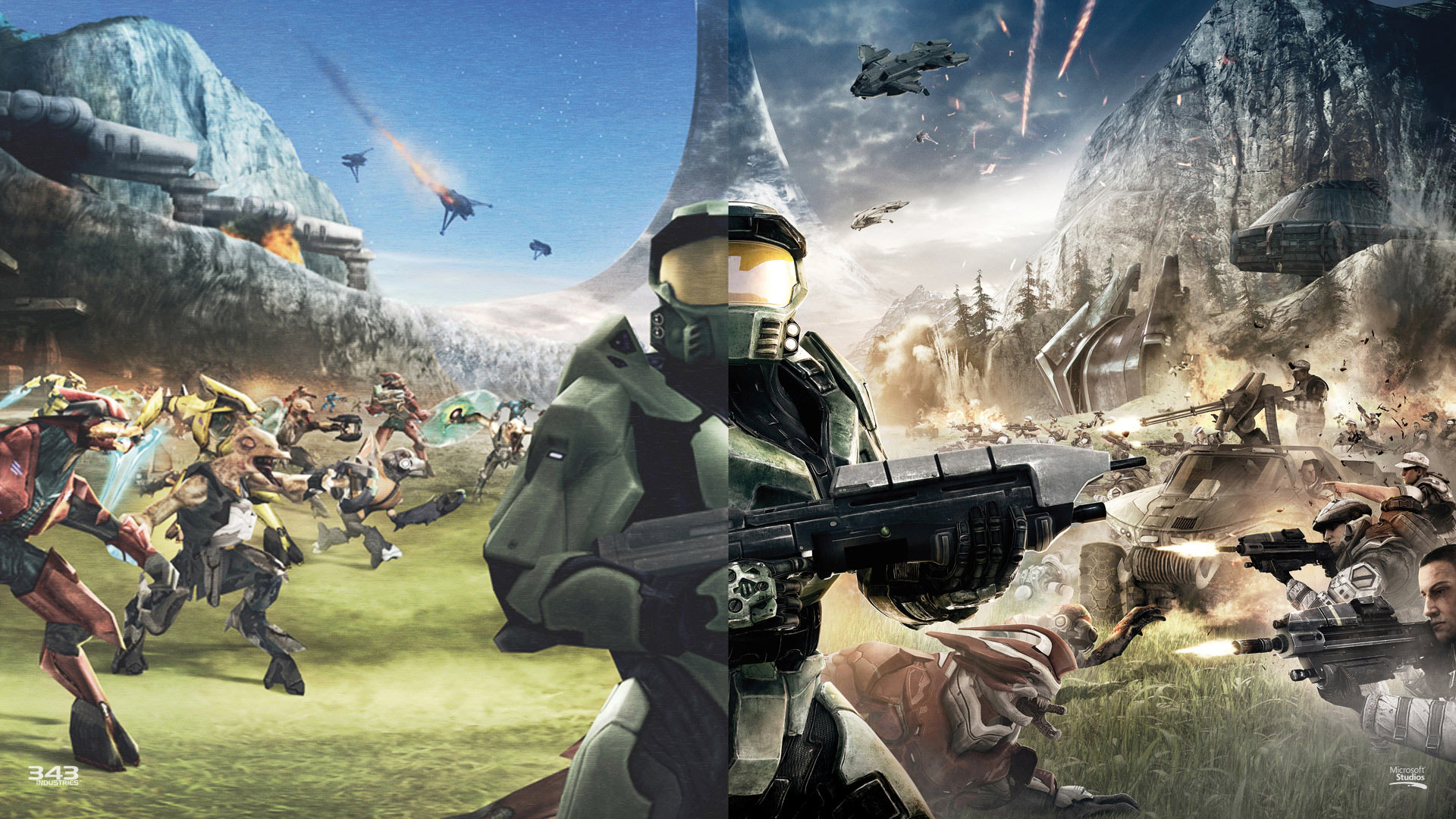 Games Wallpapers   Halo Combat Evolved 10 Years Anniversary wallpaper 1920x1080