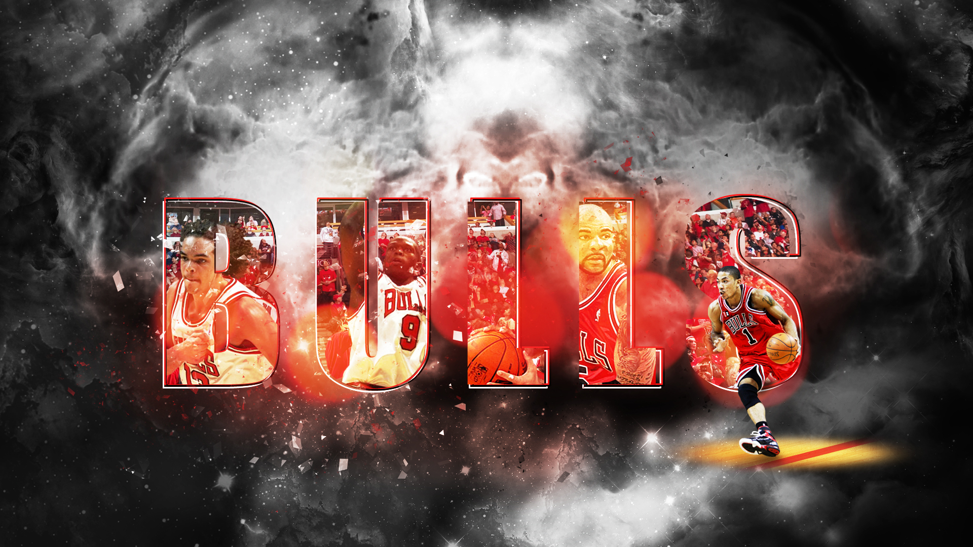 Chicago Bulls by Chadski51 1920 x 1080 widescreen 1920x1080