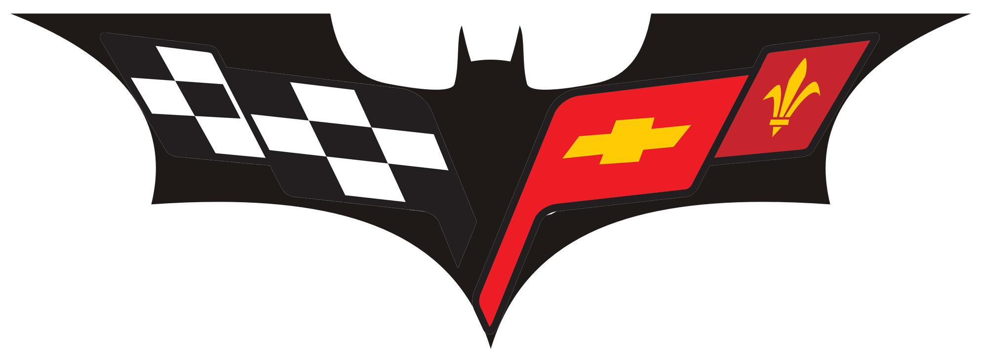 how to draw corvette logo