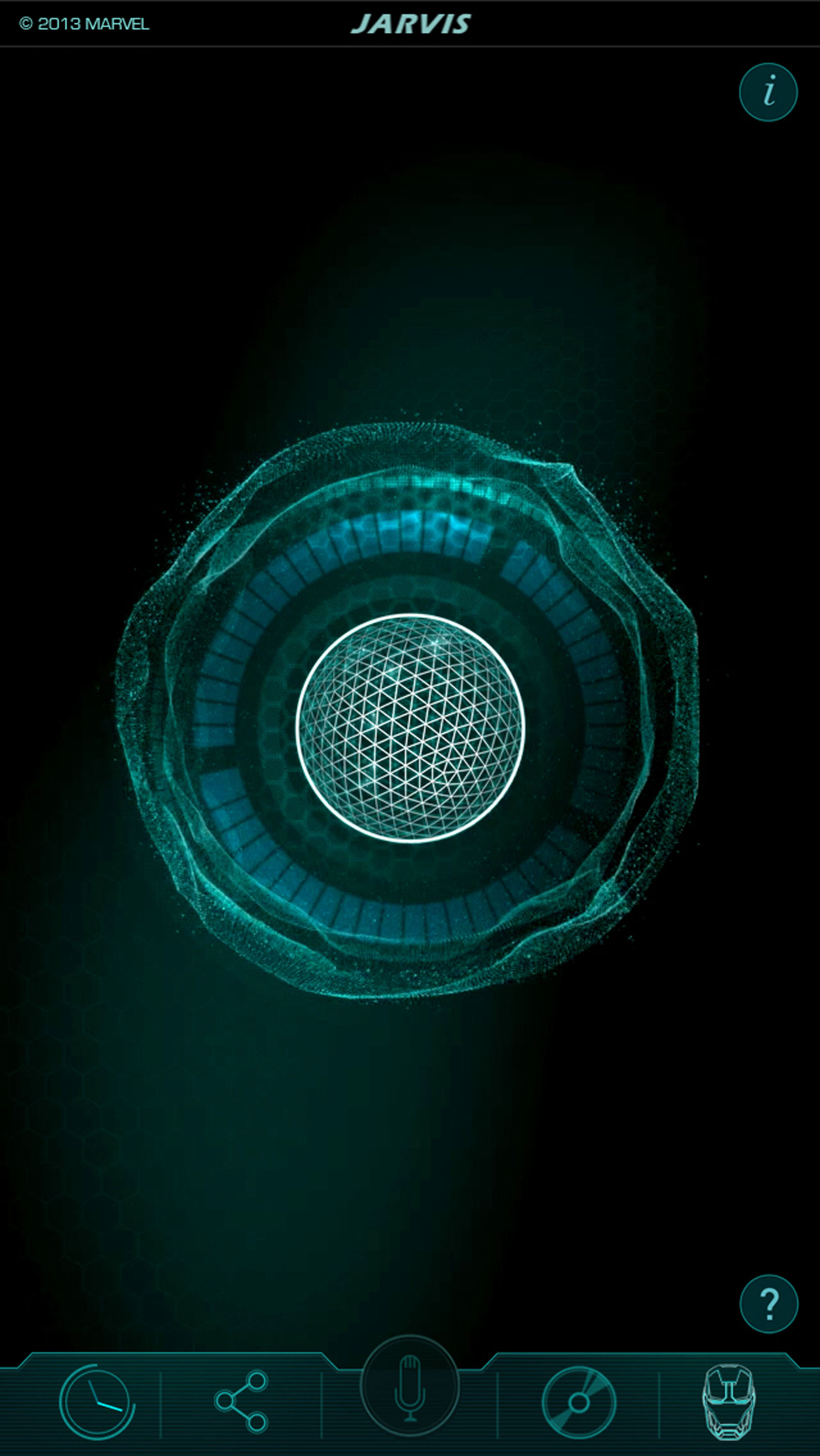Jarvis iPhone Wallpaper - WallpaperSafari