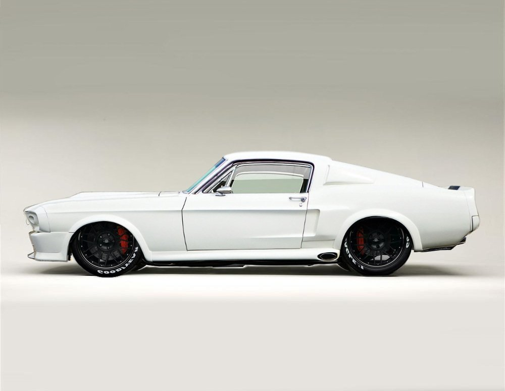 White 67 Shelby GT500 by lovelife81 on deviantART 1000x775