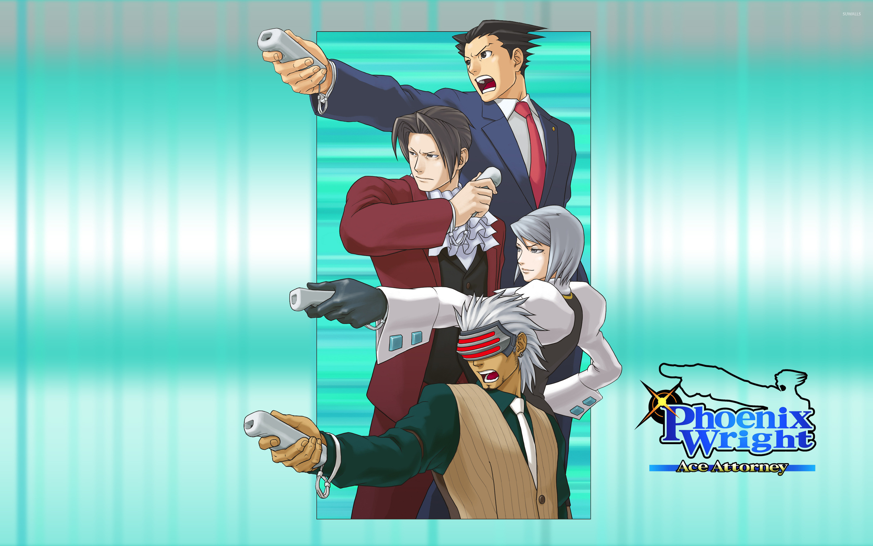 36 Phoenix Wright Ace Attorney Trilogy Wallpapers On Wallpapersafari