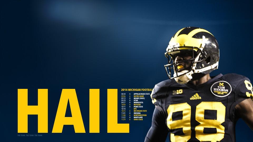 University Of Michigan Football Wallpaper 960x540