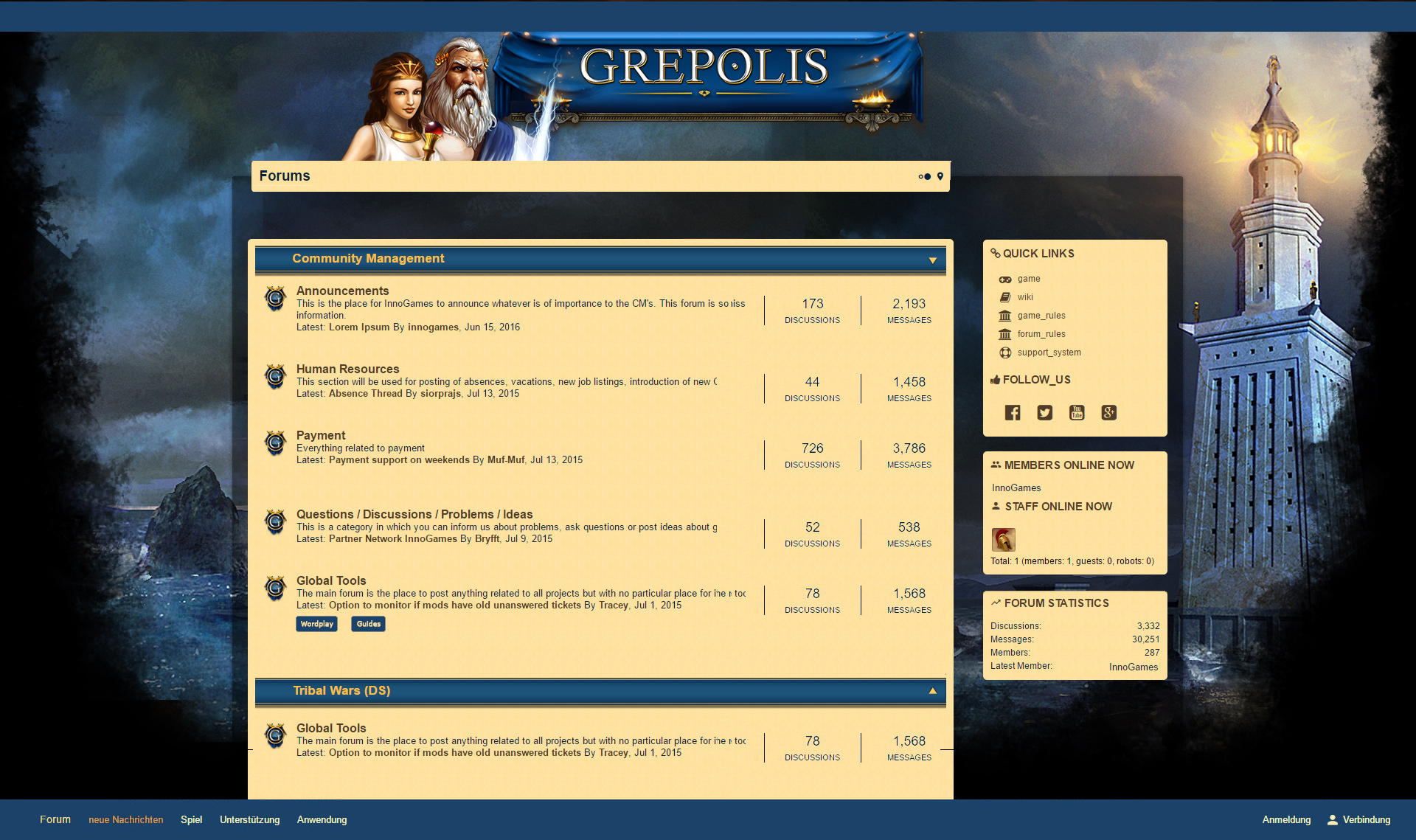 Updating the forum layout part 2 Grepolis DevBlog 1920x1139