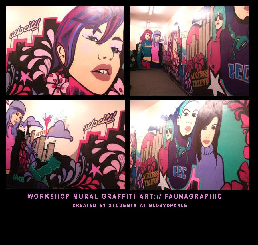 Faunagraphic Sheffield Street Artist Graffiti Art Murals Design 904x858