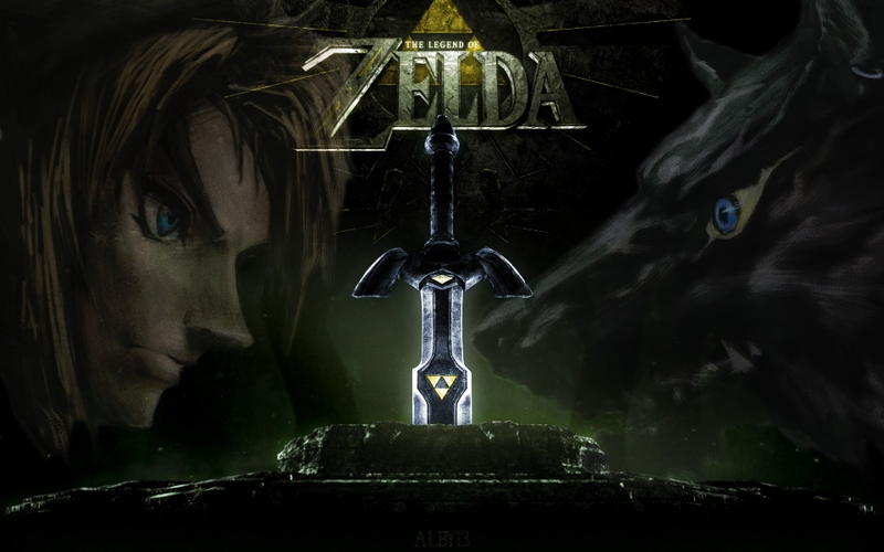 link the legend of zelda swords 1920x1200 wallpaper Video Games Zelda 800x500