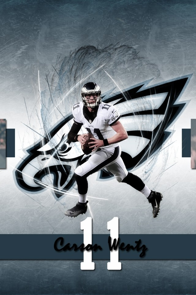 Download 640x960 Carson Wentz American Football Wallpapers for 640x960
